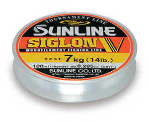 Bild på Sunline Siglon V Monofilament Clear 100m 0,285mm / 7kg
