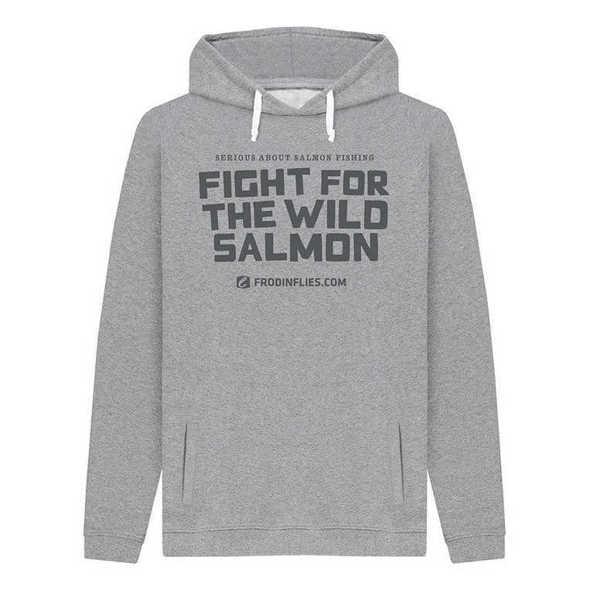 Bild på Frödin Fight for the Wild Salmon Grey Hoodie