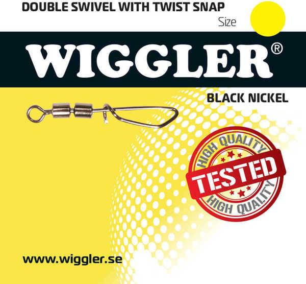 Bild på Wiggler Double Swivel Twist Snap (2-3 pack)