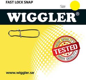 Bild på Wiggler Fast Lock Snap (10 pack) #4 / 35kg