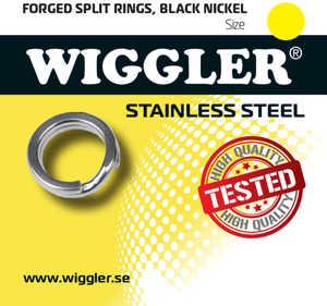 Bild på Wiggler Fjäderringar Rostfria (6-10 pack) 11mm (6 pack)