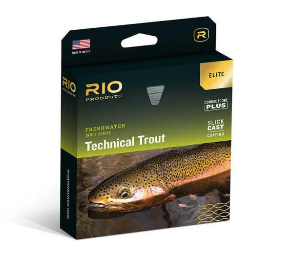 Bild på RIO Elite Technical Trout WF4