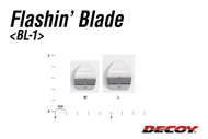 Bild på Decoy Flashin Blade Gold (3 pack)
