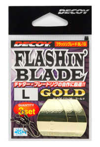 Bild på Decoy Flashin Blade Gold (3 pack) Large