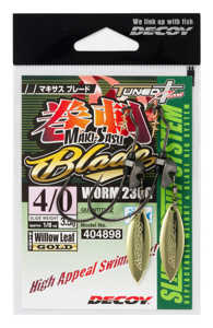 Bild på Decoy Makisasu Blade Worm230G (2 pack) #5/0 - 5g