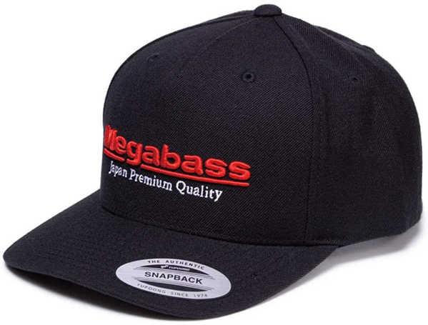 Bild på Megabass Classic Snapback Black/Red