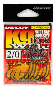 Bild på Decoy KG Hook Wide Worm25 (4-8 pack) #3/0 (6 pack)