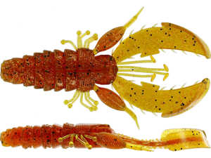 Bild på Westin CreCraw Creaturebait 10cm 12g (4 pack) Motoroil Pepper
