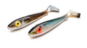 Bild på Svartzonker McRubber Junior Real Series 17cm (2 pack) Baltic Herring & Eelpout