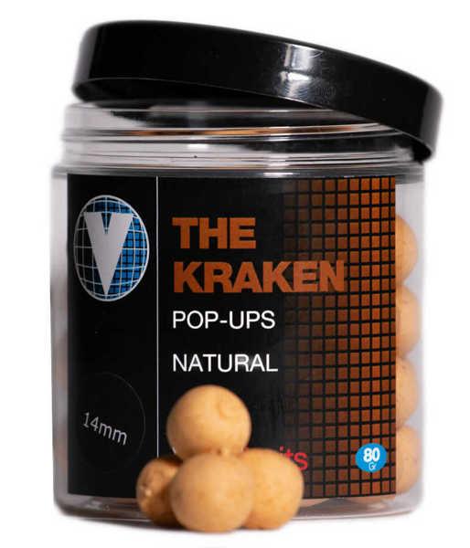 Bild på Vitalbaits Pop-Ups The Kraken Natural 14mm