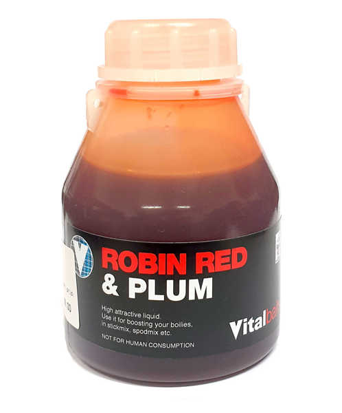 Bild på Vitalbaits Liquid Robin Red & Plum 250ml