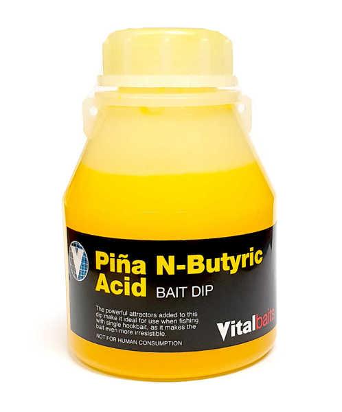 Bild på Vitalbaits Bait Dip Piña N-Butyric Acid 250ml