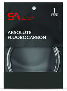Bild på Scientific Anglers Absolute Fluorocarbon Tafs 9ft 0X (0,28mm)