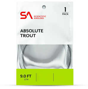 Bild på Scientific Anglers Absolute Trout Tafs 9ft 0X (0,28mm)