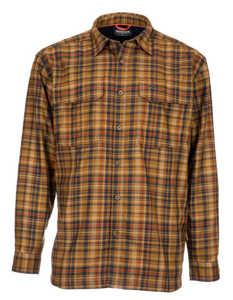 Bild på Simms ColdWeather Shirt (Dark Bronze Admiral Plaid) XL