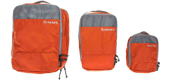 Bild på Simms GTS Packing Pouches Orange (3 pack)