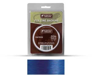 Bild på Scientific Anglers Dacron Backing Blue 20lb (100 yd)
