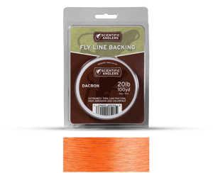 Bild på Scientific Anglers Dacron Backing Orange 30lb (100yd)