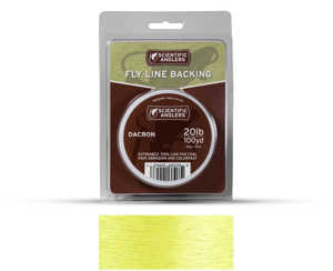 Bild på Scientific Anglers Dacron Backing Yellow 20lb (250yd)