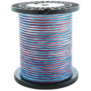Bild på Scientific Anglers Dacron Backing Tri-Color Red/White/Blue 20lb (5000yd)