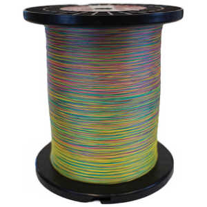 Bild på Scientific Anglers Dacron Backing Tri-Color Green/Yellow/Red 20lb (5000yd)