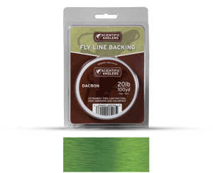 Bild på Scientific Anglers Dacron Backing Optic Green 20lb (100yd)