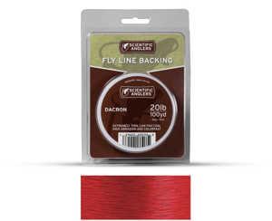 Bild på Scientific Anglers Dacron Backing Red 20lb (100yd)