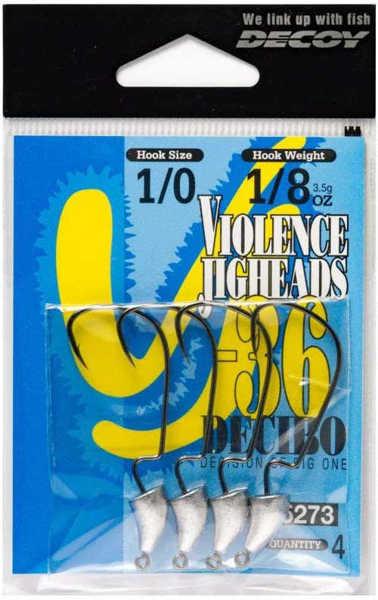 Bild på Decoy Violence Jighead VJ-36 11g #4/0 (2 pack)