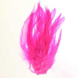 Bild på Schlappen (Lösa fjädrar från tuppnacke) Fluo Pink