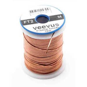 Bild på Veevus French Tinsel Oval Copper Medium