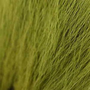 Bild på Hjortsvans/Bucktail i bitar Light Olive
