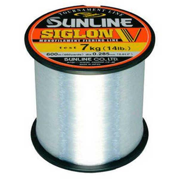 Bild på Sunline Siglon V Monofilament Clear Bulk 2000m