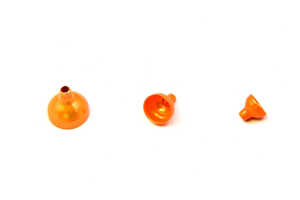 Bild på FITS Brass Turbo Tubes Orange Metallic - Large