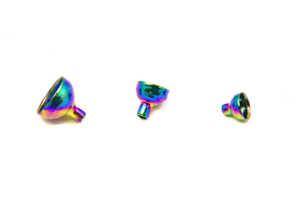 Bild på FITS Brass Turbo Tubes Rainbow - Small