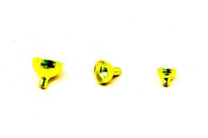 Bild på FITS Brass Turbo Tubes Yellow Metallic - Small