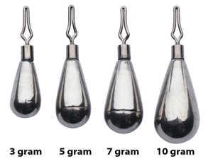 Bild på Berkley URBN Tungsten Dropshot Weight (3 pack) 5 gram