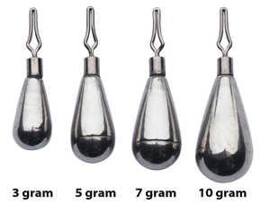 Bild på Berkley URBN Tungsten Dropshot Weight (3 pack) 7 gram