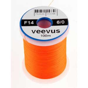 Bild på Veevus Bindtråd 14/0 Fluo Orange