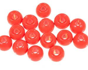 Bild på A.Jensen Hot Head (15 pack) Fluo Red - 4,0mm