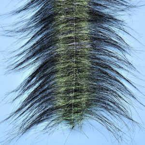 Bild på EP Craft Fur Brush Black/Chartreuse