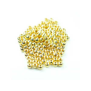 Bild på Cyclop Beads Gold 2,5mm (10-pack)