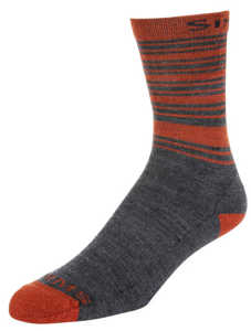 Bild på Simms Merino Lightweight Hiker Sock Carbon Large