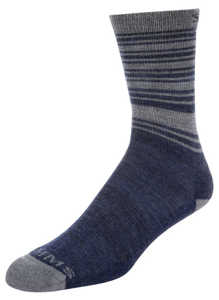 Bild på Simms Merino Lightweight Hiker Sock Admiral Blue Medium