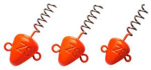 Bild på Svartzonker Screw In Head Fluo Orange (3 pack) 10 gram