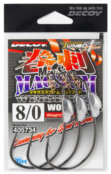 Bild på Decoy Makisasu Magnum Weighted Worm130M (2-3 pack)
