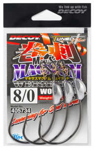 Bild på Decoy Makisasu Magnum Weighted Worm130M (2-3 pack) #8/0 - 9 gram (3 pack)