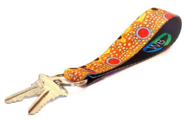 Bild på Wingo Brown Trout Nyckelring