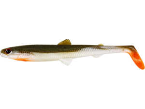 Bild på Westin BullTeez Shadtail 9,5cm (2 pack) Bass Orange