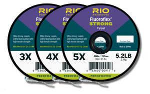 Bild på Rio Fluoroflex Strong Tippet (3 pack) 3X-4X-5X