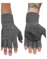 Bild på Simms Wool Half Finger Glove Steel